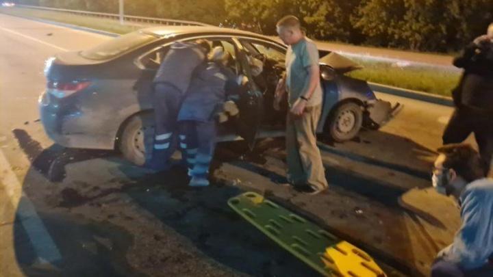 Умер мальчик-пассажир, чей отец протаранил Lexus на дублере Сибирского тракта