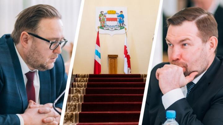 Из омского горсовета ушли сразу три депутата