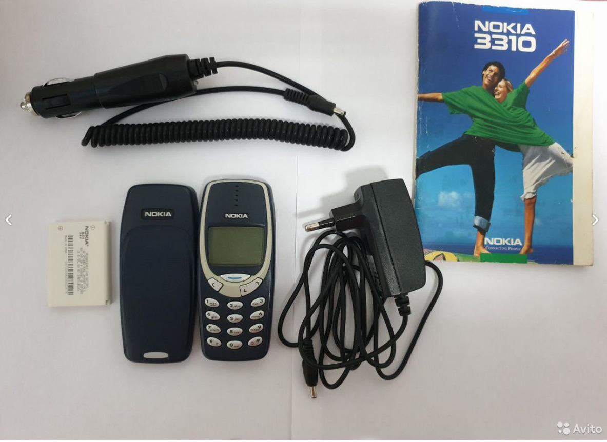 """Nokia 3310 в «коллекционном состоянии» за <nobr class=""""_"""">45 000</nobr> рублей"""