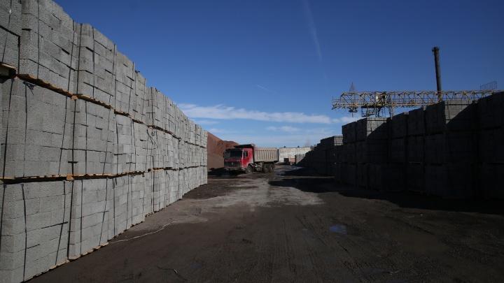 Винзилинский завод керамзитового гравия начал строить выставочный коттедж