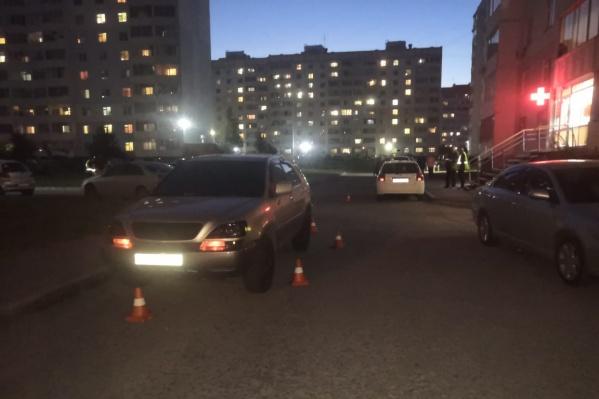 Инцидент произошел во дворе на Тюленина