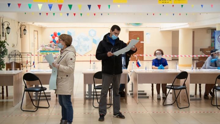 Архангельск голосующий: фоторепортаж с избирательных участков
