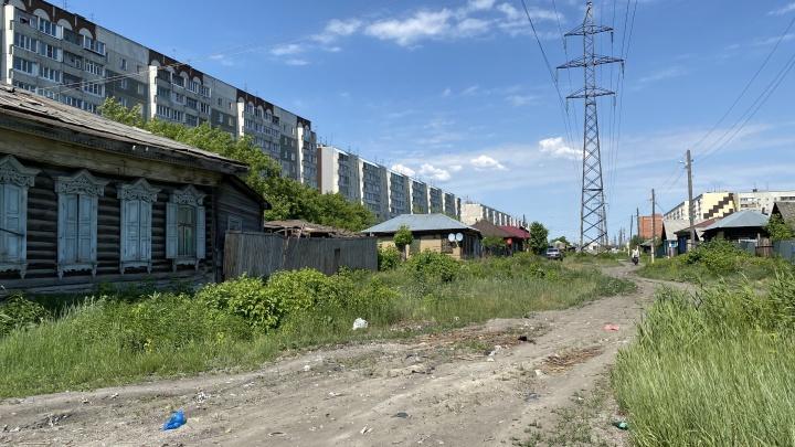 Жители Кургана судятся с мэрией из-за планов строительства дороги по улице Бурова-Петрова