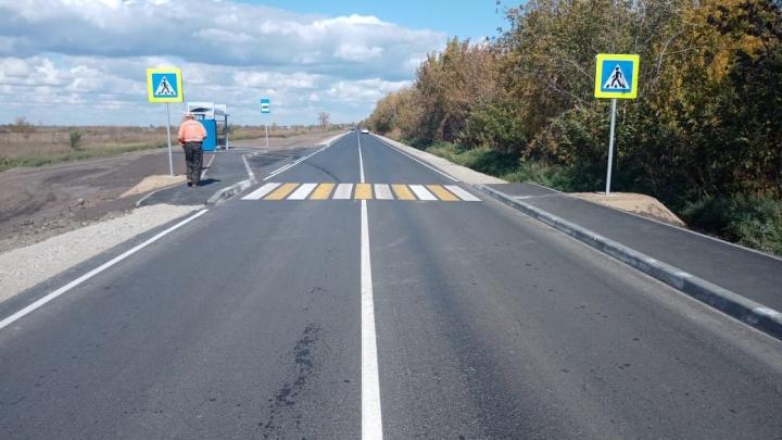 Всё сделано: «Новосибирскавтодор» показал, как выглядит участок дороги к СНТ «Аква» после ремонта