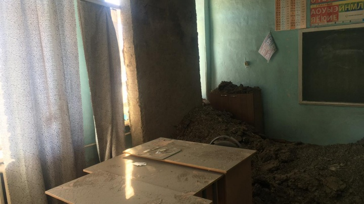 В Башкирии в школе обрушился потолок. Следком проводит проверку