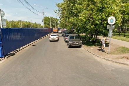 По участку проспекта Карла Маркса в районе станции метро «Московская» движение будет закрыто почти на месяц