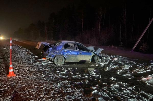 В страшной аварии пострадала многодетная семья