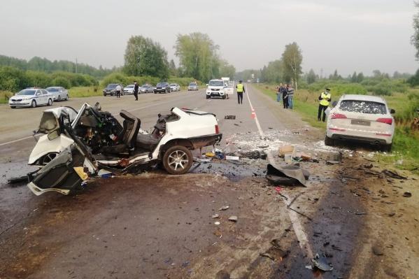 Под Каменском-Уральским произошло смертельное ДТП