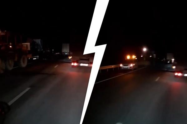 В результате ДТП погиб водитель Scania