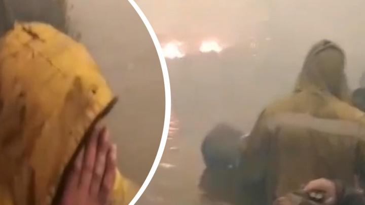Десантники рассказали, как спаслись в горящем тюменском лесу: «Если бы не ручей — здесь нашли бы 25 трупов»