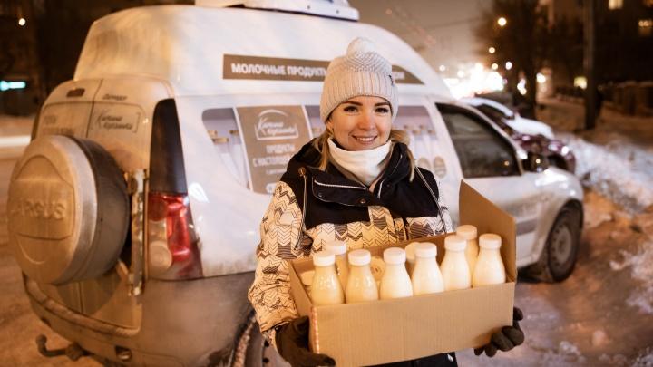 Доярка из Бородиновки: бухгалтер оставила город ради фермы, купила коров и создала свой бренд