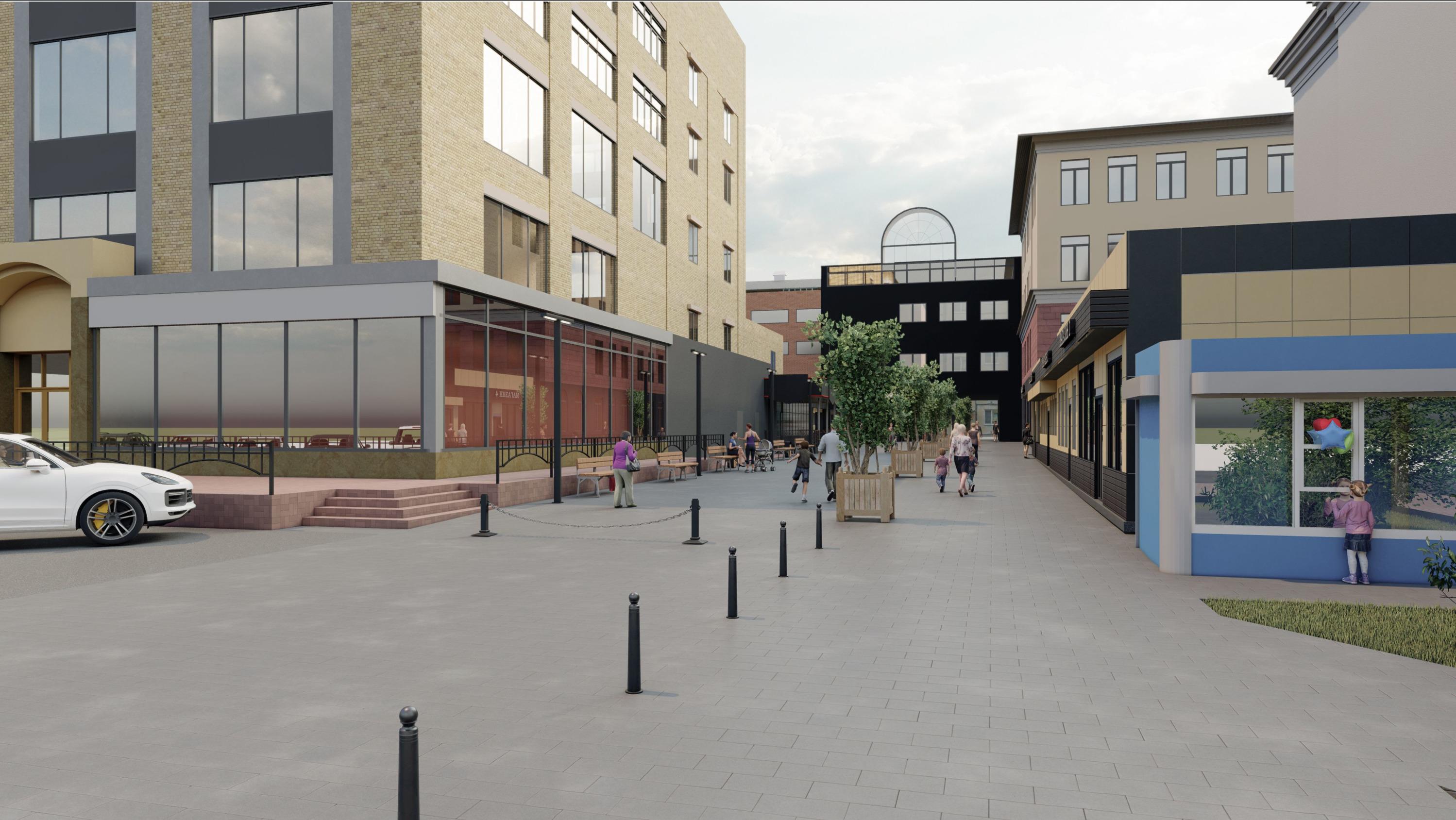 Проект «переулка Поздеева» стал одним из 11 проектов, которые прошли конкурс на софинансирование