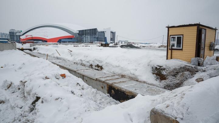 В Кемерово начали строить Московскую площадь. Показываем, как она выглядит сейчас