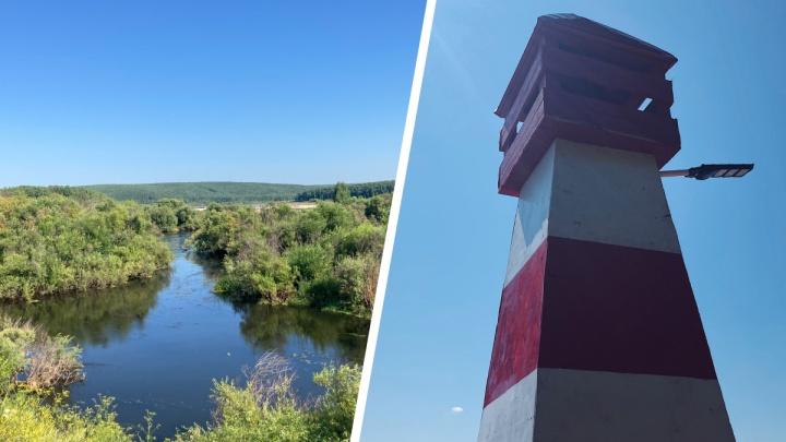 Кувшинки, маяк и река с тарзанкой: стоит ли ехать на Новопятницкое водохранилище