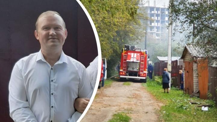 Перепрыгнул через забор и кинулся в дом: ярославец спас соседку из огня