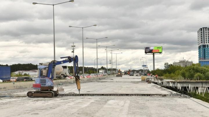 Ремонт развязки на Луганской — Объездной замедлился из-за требований железнодорожников