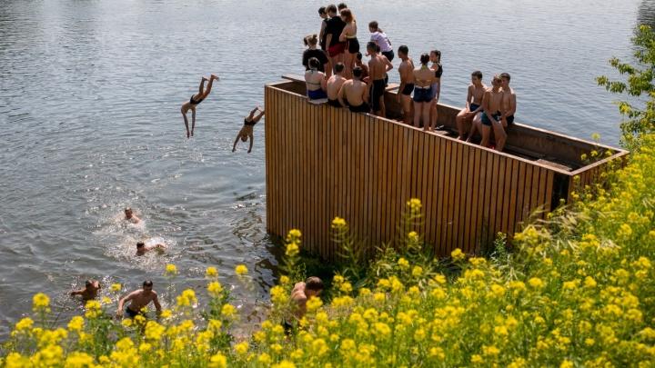 На Татышеве озвучили планы по созданию места для купания