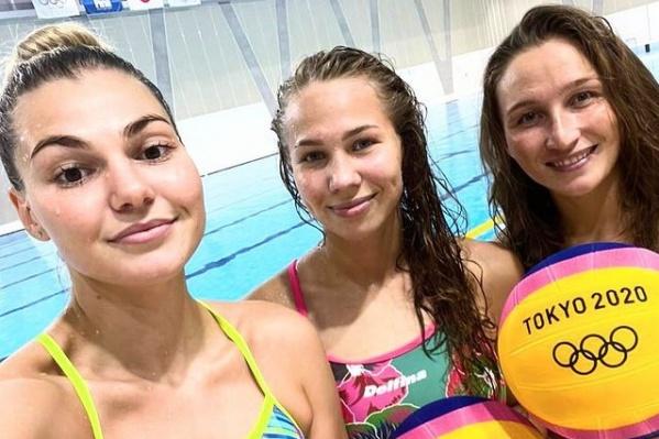 От Челябинской области в сборную России вошли Евгения Головина, Мария Берснева и Эльвина Каримова