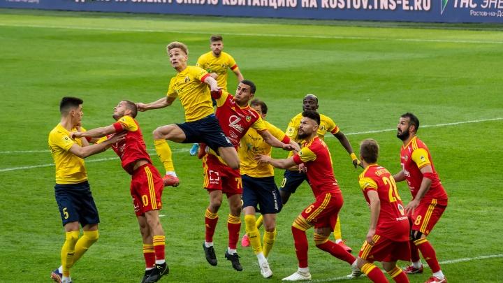 «Ростов» в большинстве обезоружил «Арсенал». Фоторепортаж 161.RU