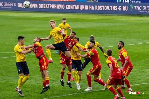 Самым активным игроком «Ростова» был Понтус Алмквист