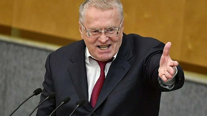 Владимир Жириновский, председатель ЛДПР: 17, 18 или 19 сентября за Россию! За себя! За ЛДПР!