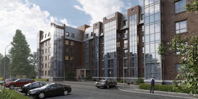 Жилой квартал «Лапшин Loft» строится в березовой роще на юге Волгограда