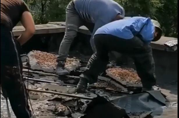 В новокузнецком детсаду в конце августа начался ремонт крыши