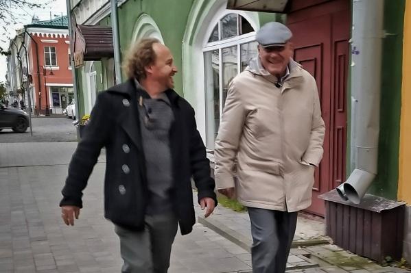 Познер прогулялся по центру Рыбинска