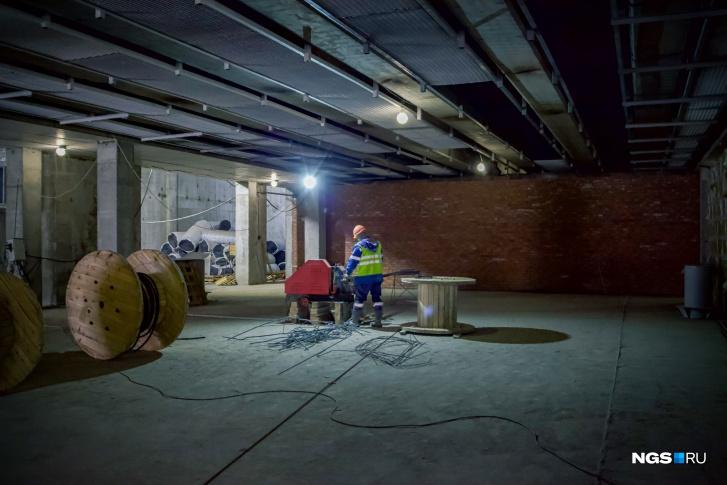 Основные работы проводятся в ночные часы, когда метрополитен не работает<br>