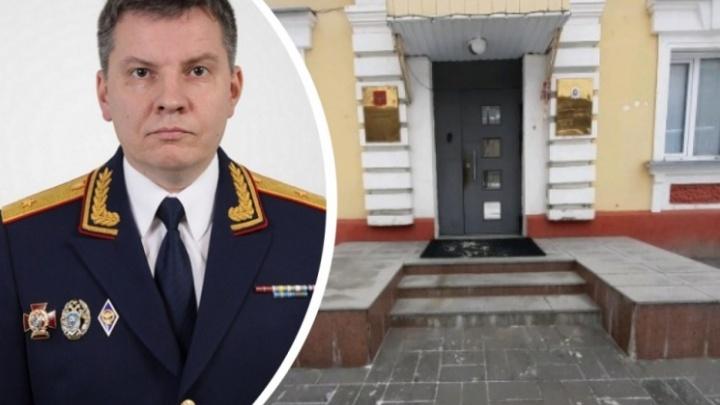 Руководитель СКР по Новосибирской области ушел на пенсию