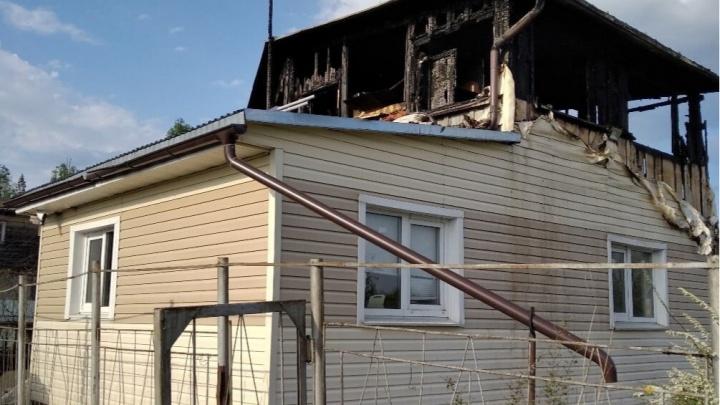 В Сарове во время пожара погибли женщина и ребенок