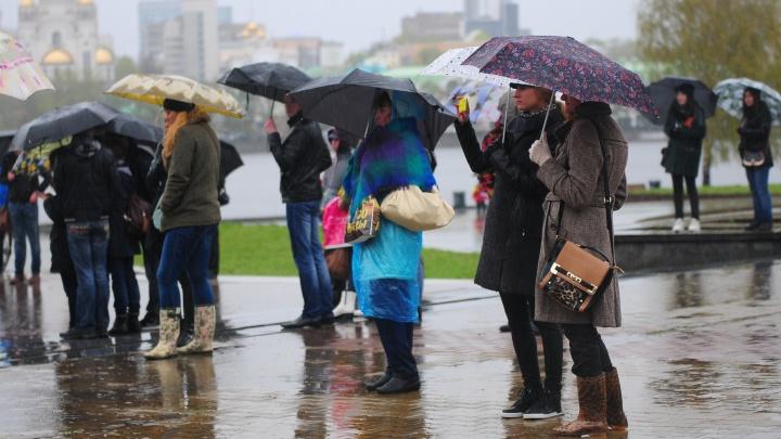 В Свердловскую область придут сильный ветер и дожди с градом
