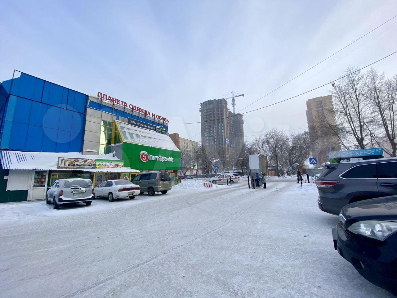 Один из якорных арендаторов ТЦ — супермаркет «Пятерочка»