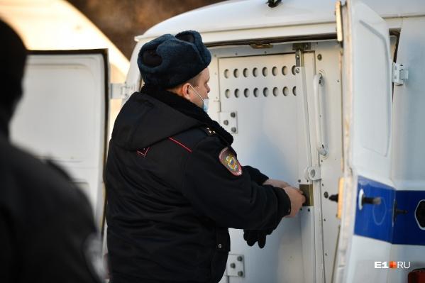 Полиция уже нашла и арестовала похитителя