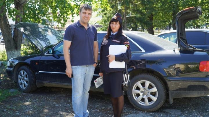 Угнанный у красноярца Audi A8 спустя 17 лет нашелся в Кургане