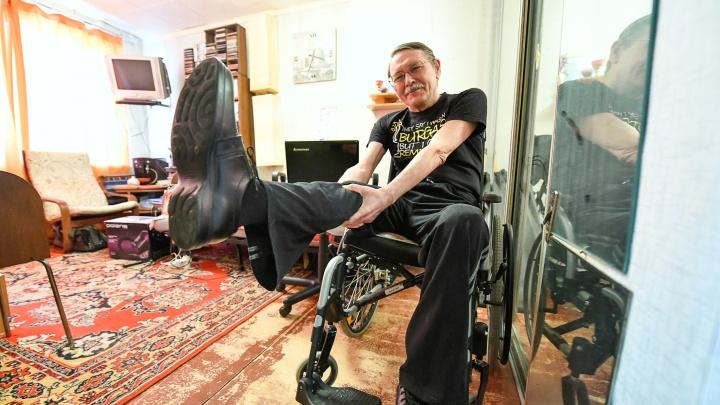 «Хорошо, что мне отрезали ногу не в молодости»: екатеринбуржец — о пользе самоиронии в тяжелых ситуациях