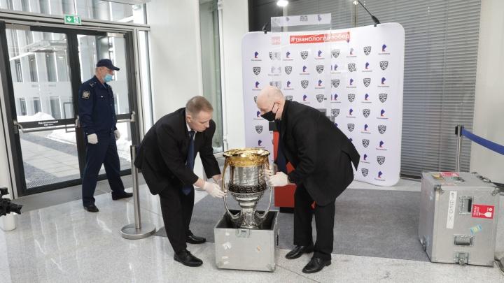 «Ростелеком» привезет в Ярославль главный трофей чемпионата КХЛ