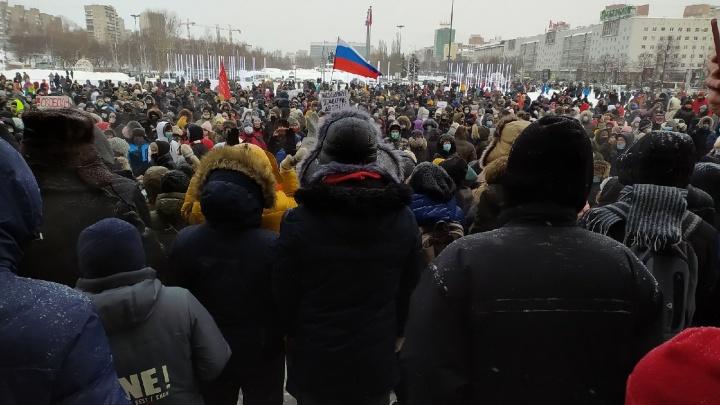 «Дело даже не в Навальном». Репортаж с протестной акции в Перми