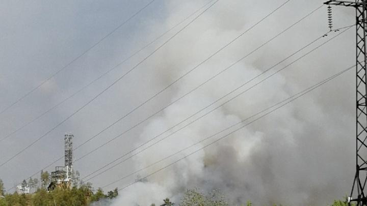В Челябинской области из-за лесного пожара перекрыли важную дорогу