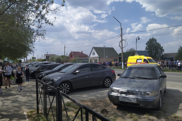 Эвакуация прошла сразу в нескольких учебных учреждениях