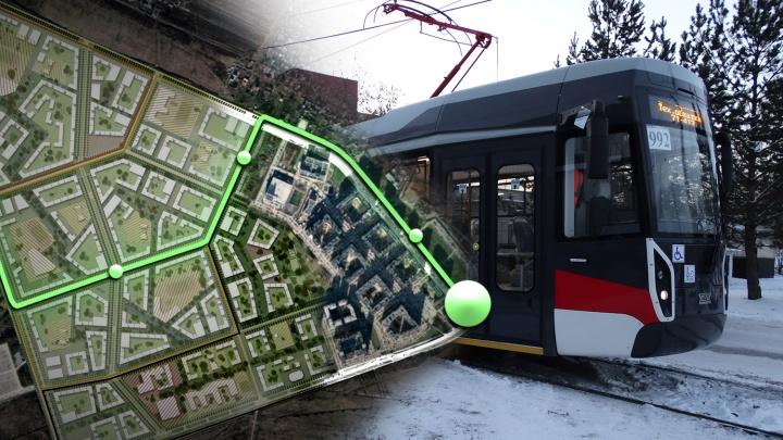 Жители новостроек в Екатеринбурге получат новую трамвайную ветку: подробности проекта