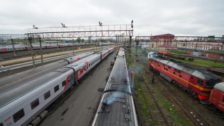 В Екатеринбурге поезд насмерть сбил мужчину