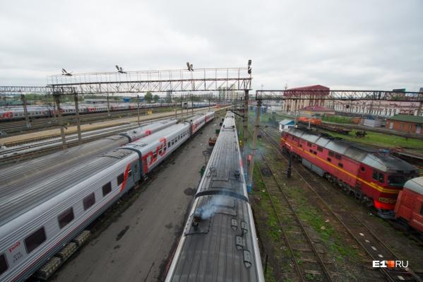 ЧП случилось за два часа до подъезда поезда к Каменску-Уральскому