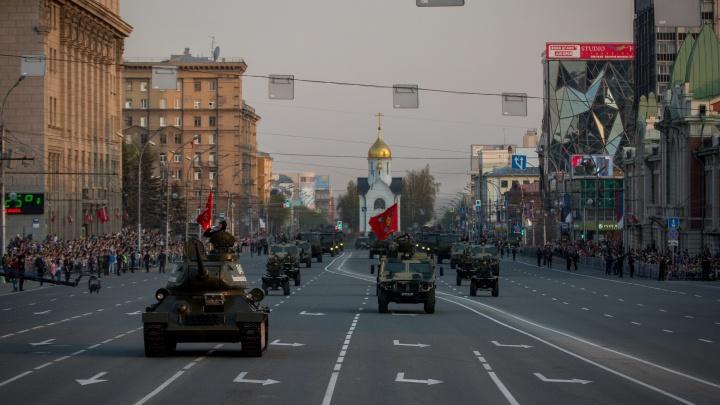 Кого пустят на парад и фейерверк: предварительная программа Дня Победы в Новосибирске
