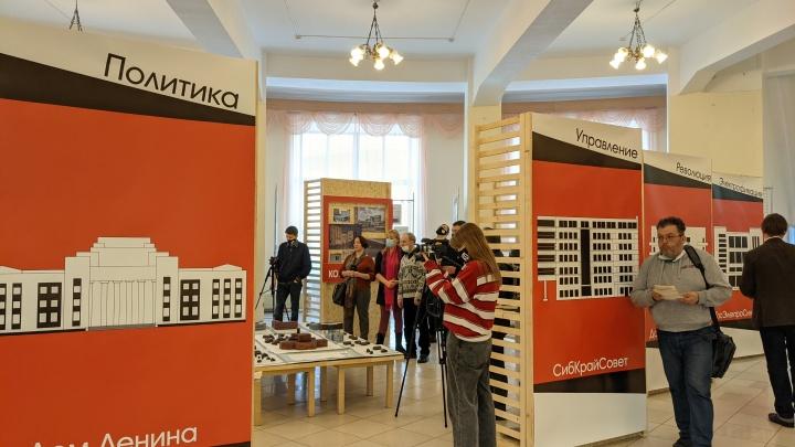 На авангардной выставке в Новосибирске показали пулемет и легендарное сибирское мыло