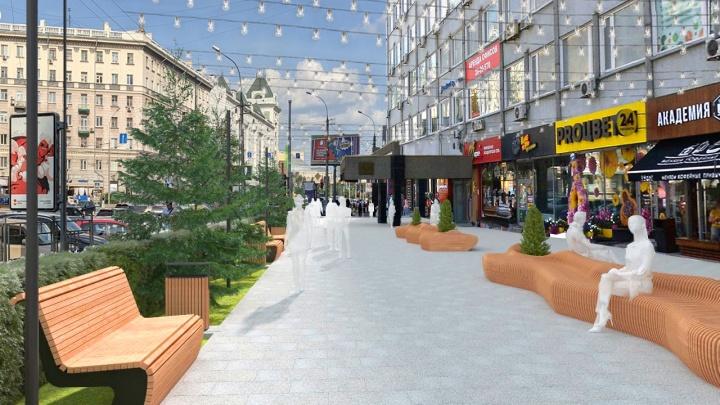 Новая Вокзальная: в центре Новосибирска решили сделать новую пешеходную зону
