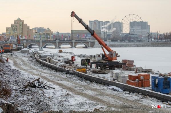Набережную в Челябинске пытаются построить уже несколько лет
