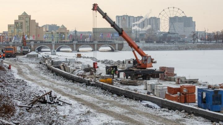В Челябинске снова объявили торги на достраивание набережной. И вновь за полмиллиарда рублей