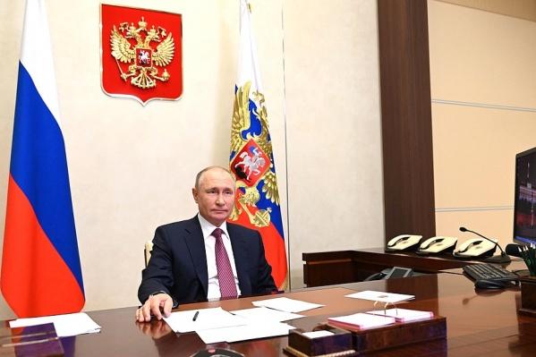 Президент провел встречу с финалистами конкурса «Большая перемена»