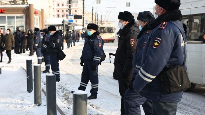 В ГИБДД предупредили об ограничениях движения в центре Челябинска из-за акции протеста